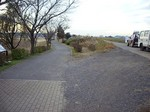 我孫子市側の手賀沼遊歩道