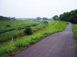 運河、利根川方向